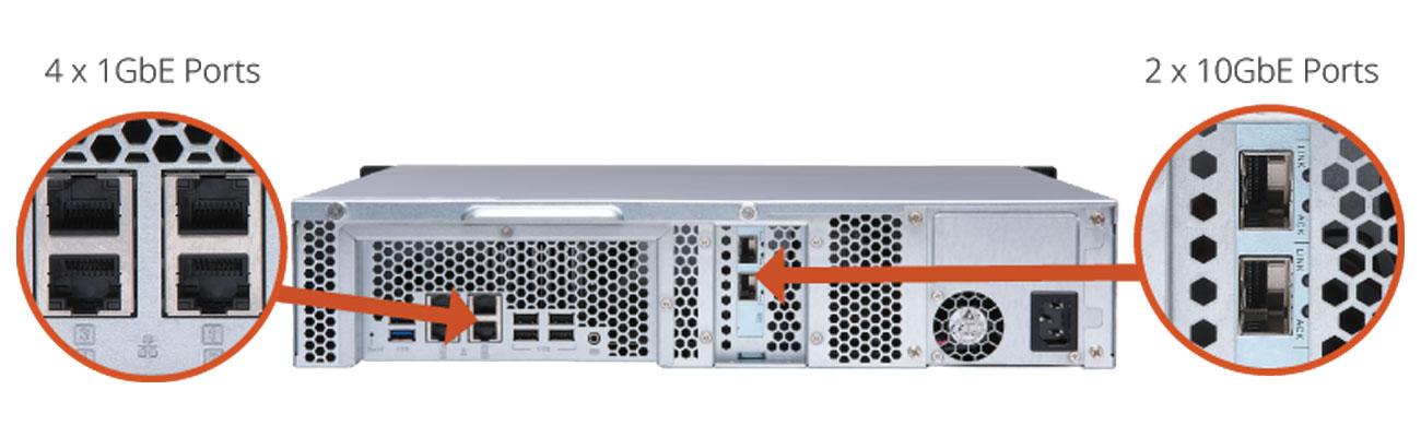 QNAP TS-873U-4G Obsługa kompleksowych konfiguracji RAID