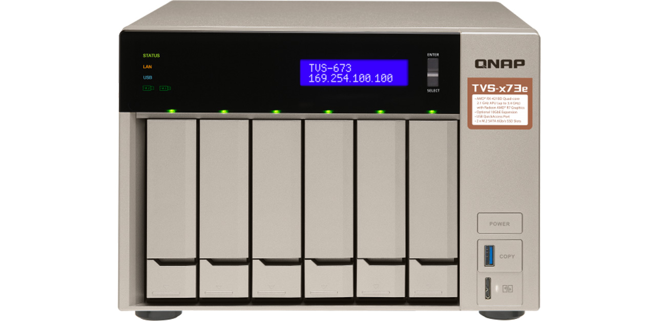Dysk sieciowy TVS-673e