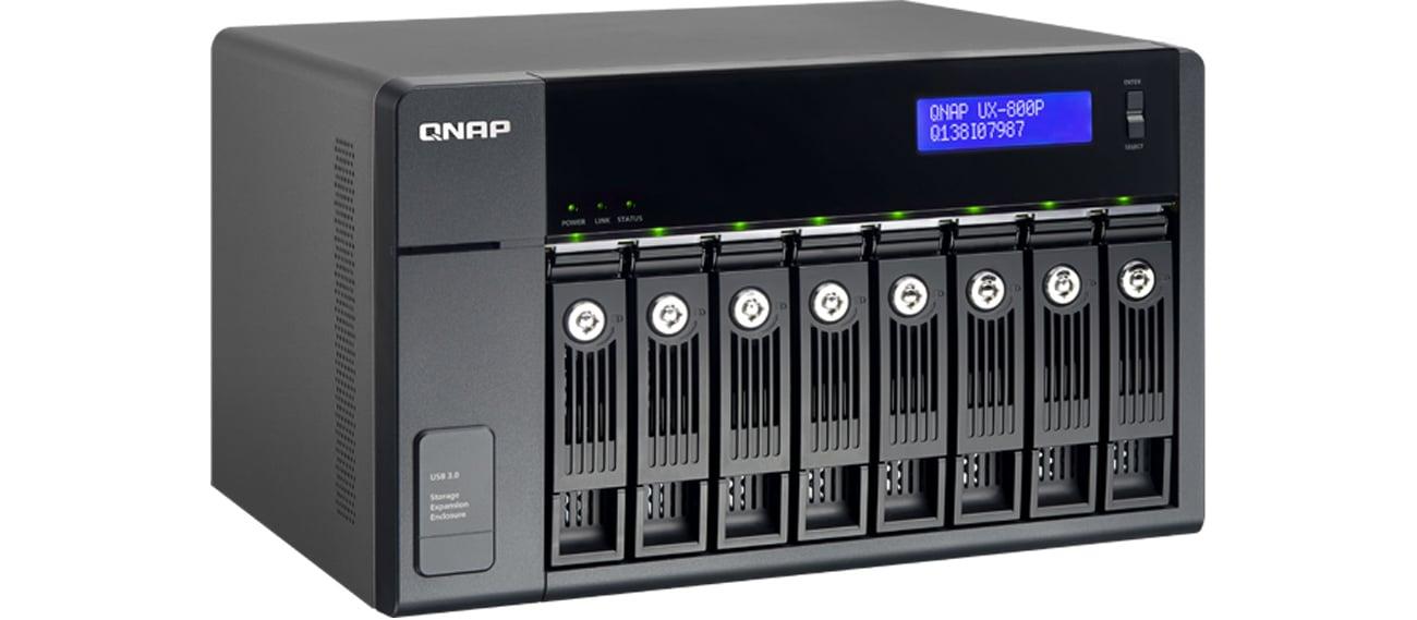 QNAP UX-800P backup serwera