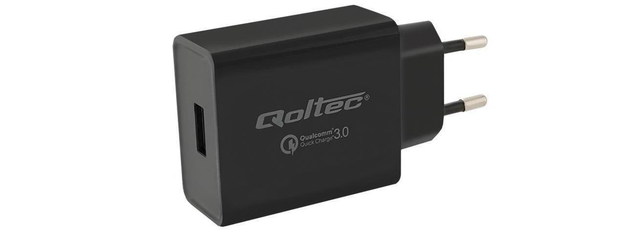 Qoltec Ładowarka Quick Charge 3.0 3A 18W USB