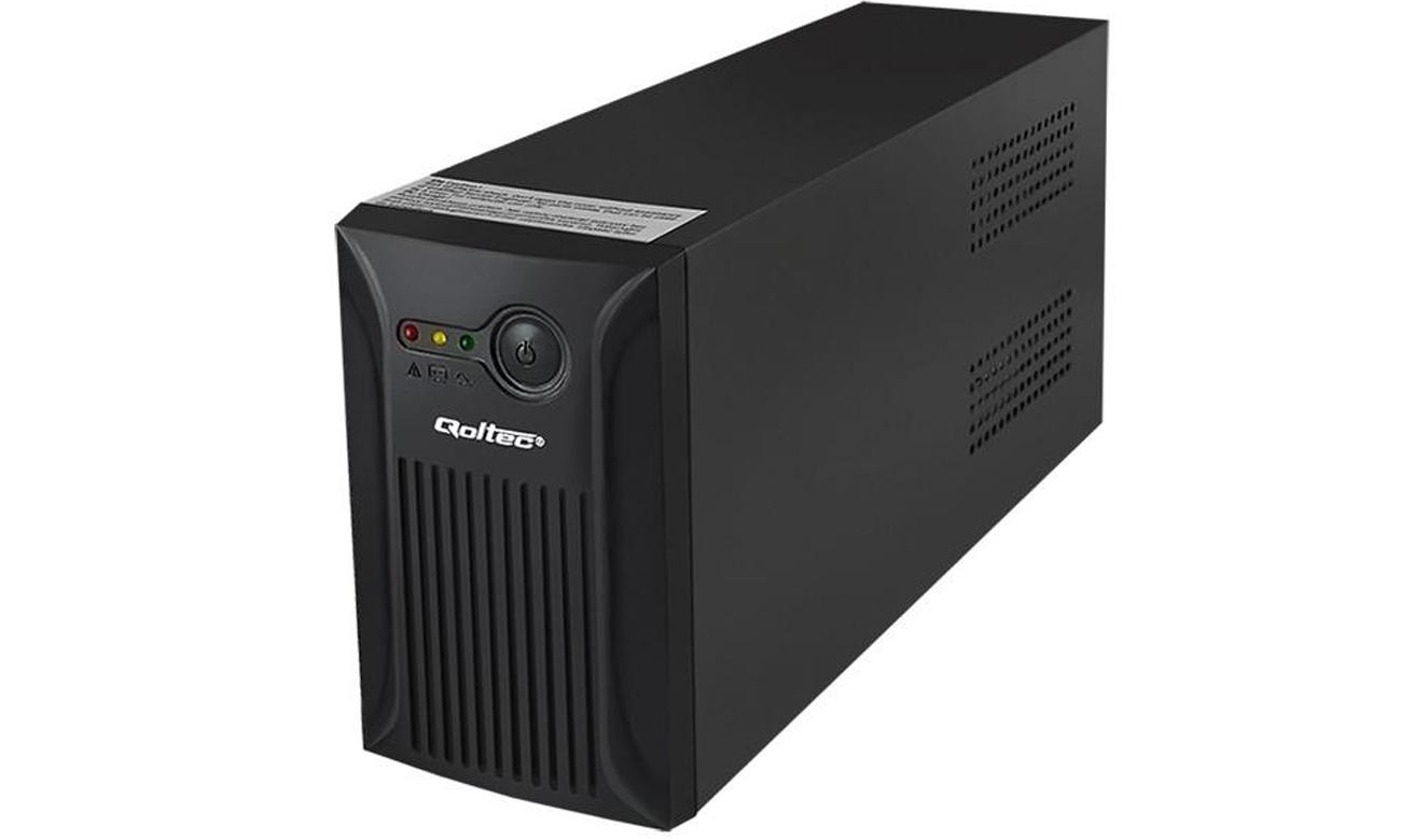 Qoltec UPS 800VA 480W IEC SCHUKO