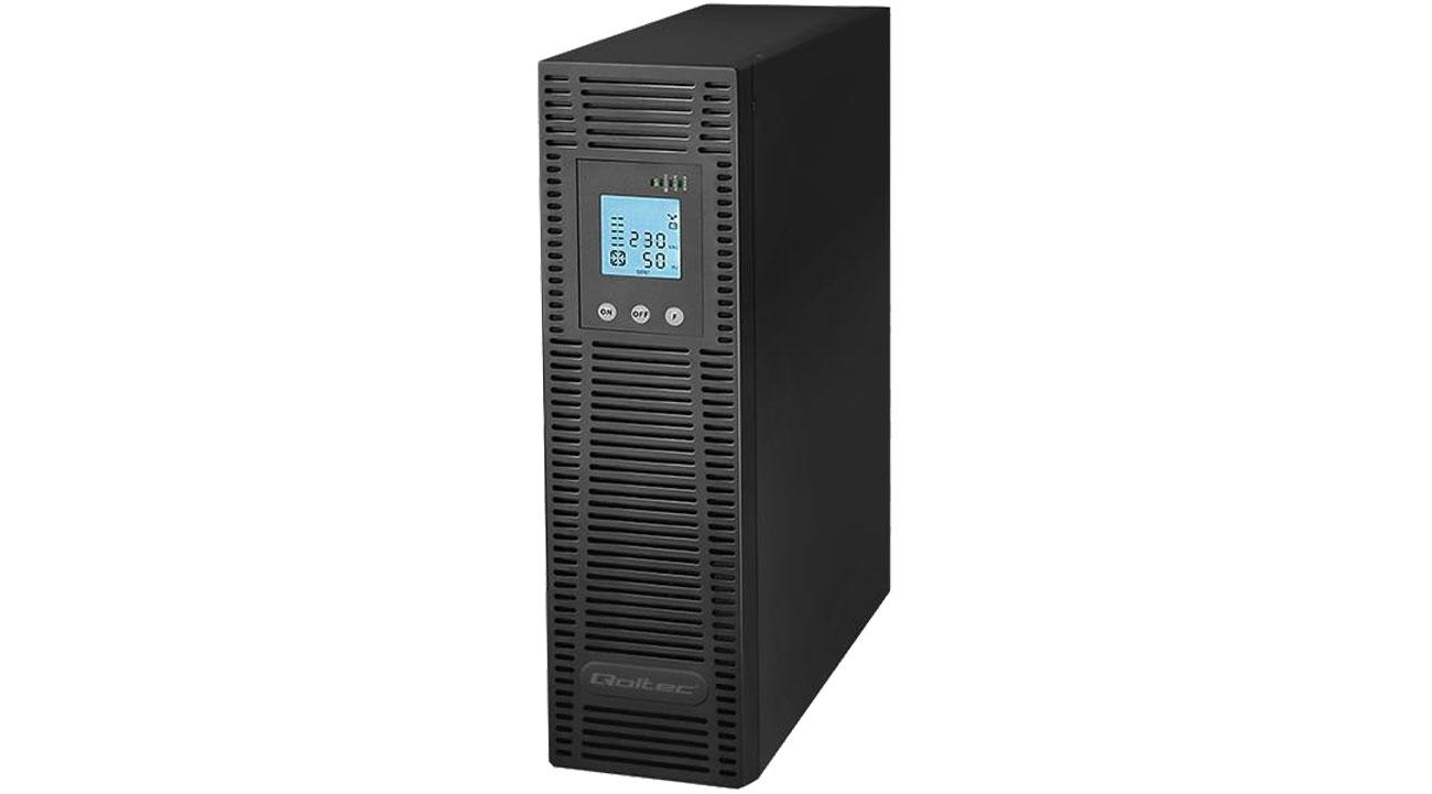 UPS Qoltec 53942 Rack 3000 VA / 2400W Wyświetlacz LCD