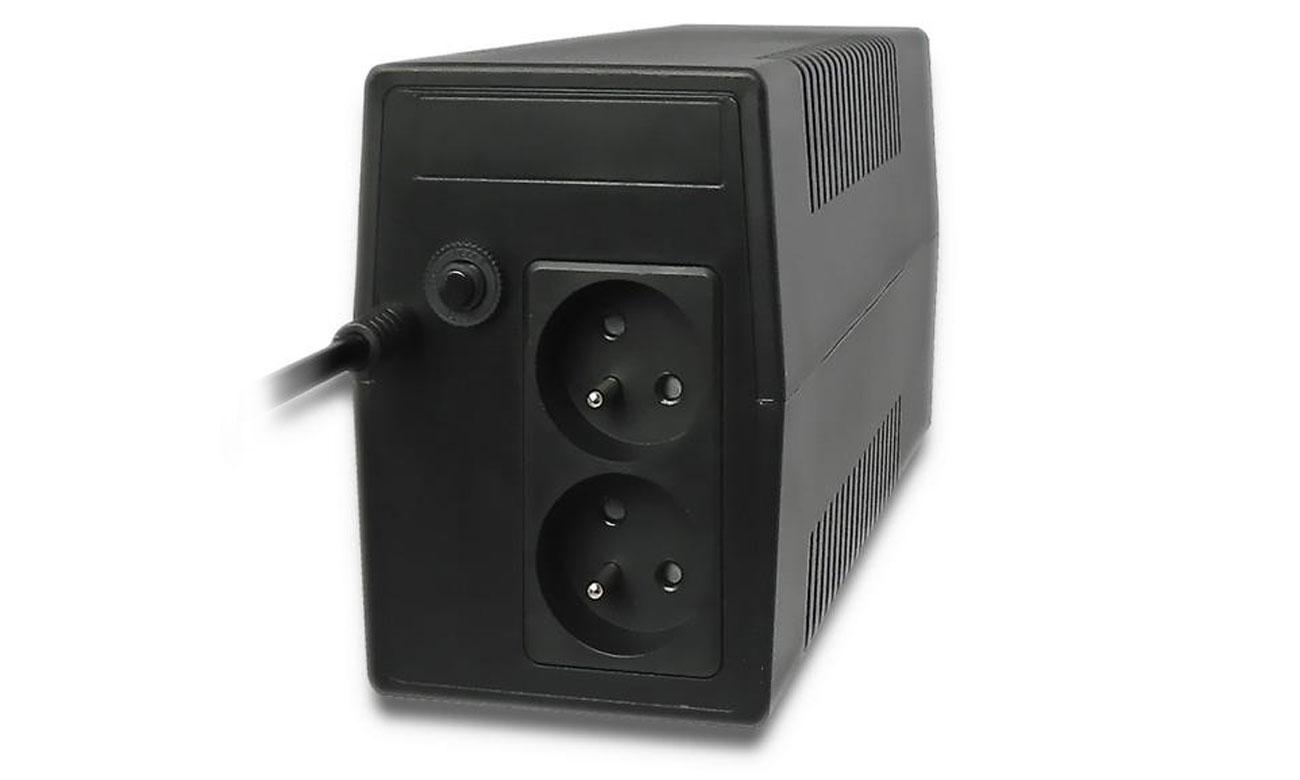 Qoltec Monolith 850VA 480W