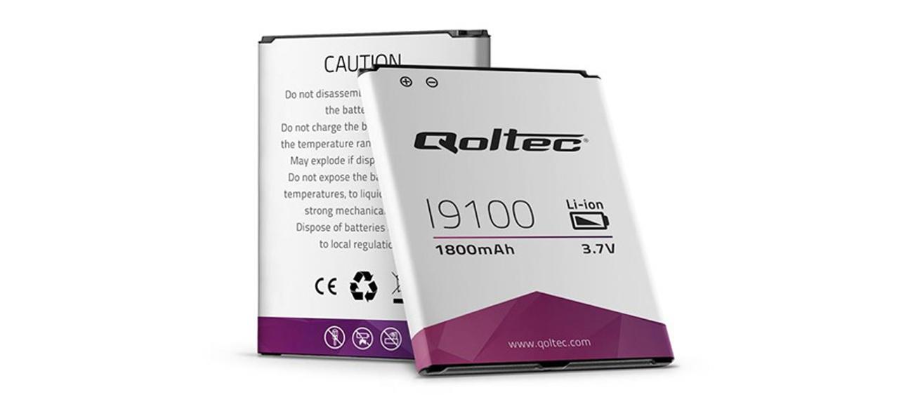 Bateria Qoltec Samsung Galaxy SII I9100, 1800mAh 7708.I9100