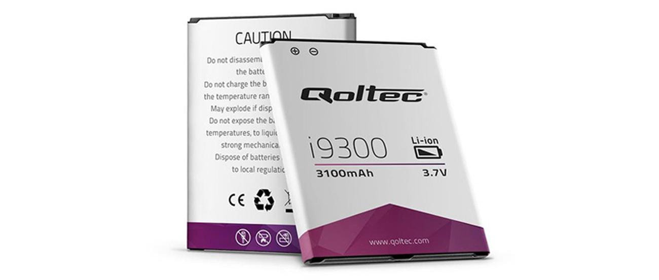 Bateria Qoltec Samsung Galaxy SIII I9300, 3100mAh 7710.I9300