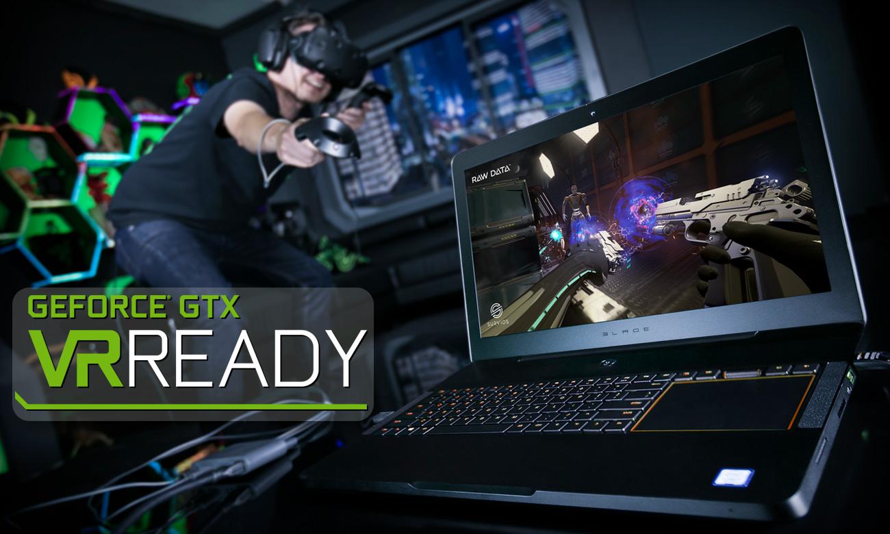 Razer Blade Pro Laptop VR Ready, Zażarte boje w rzeczywistości wirtualnej