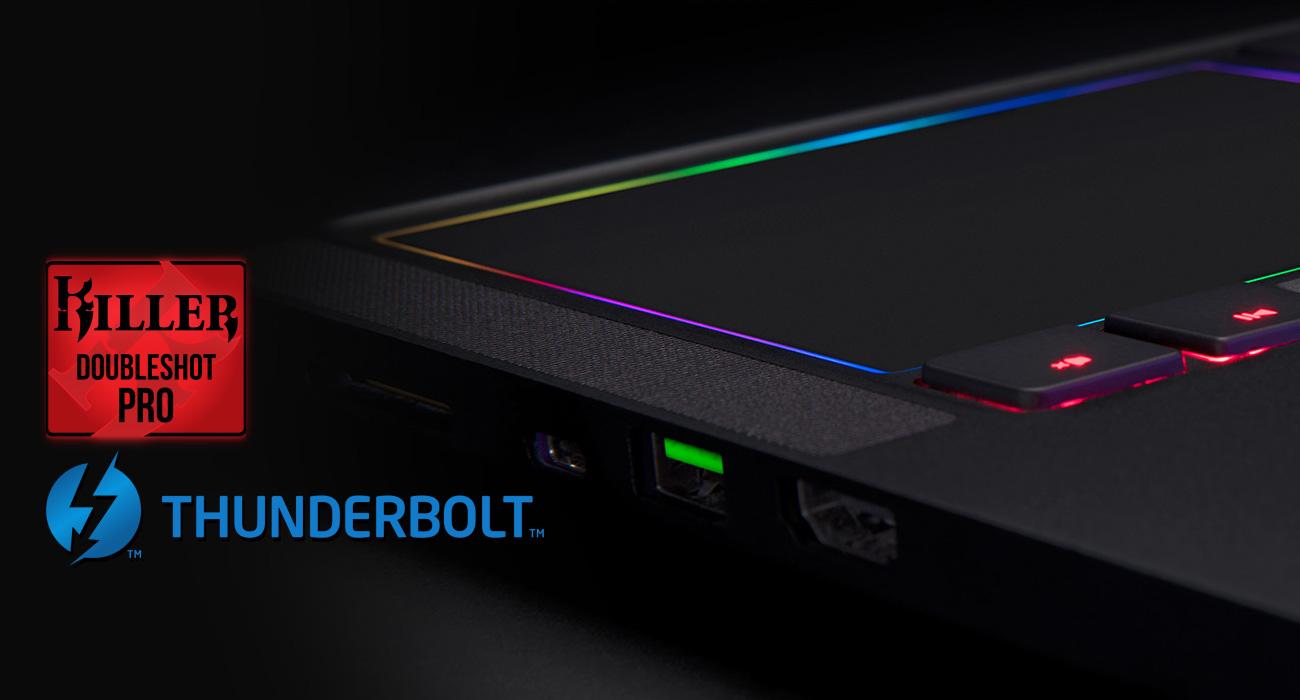 Razer Blade Pro Zaawansowana łączność, Szybki pod każdym względem
