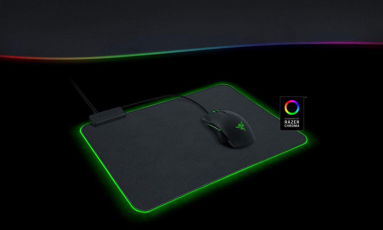 Razer Goliathus Chroma Możliwość personalizacji i 16,8 mln kolorów do wyboru