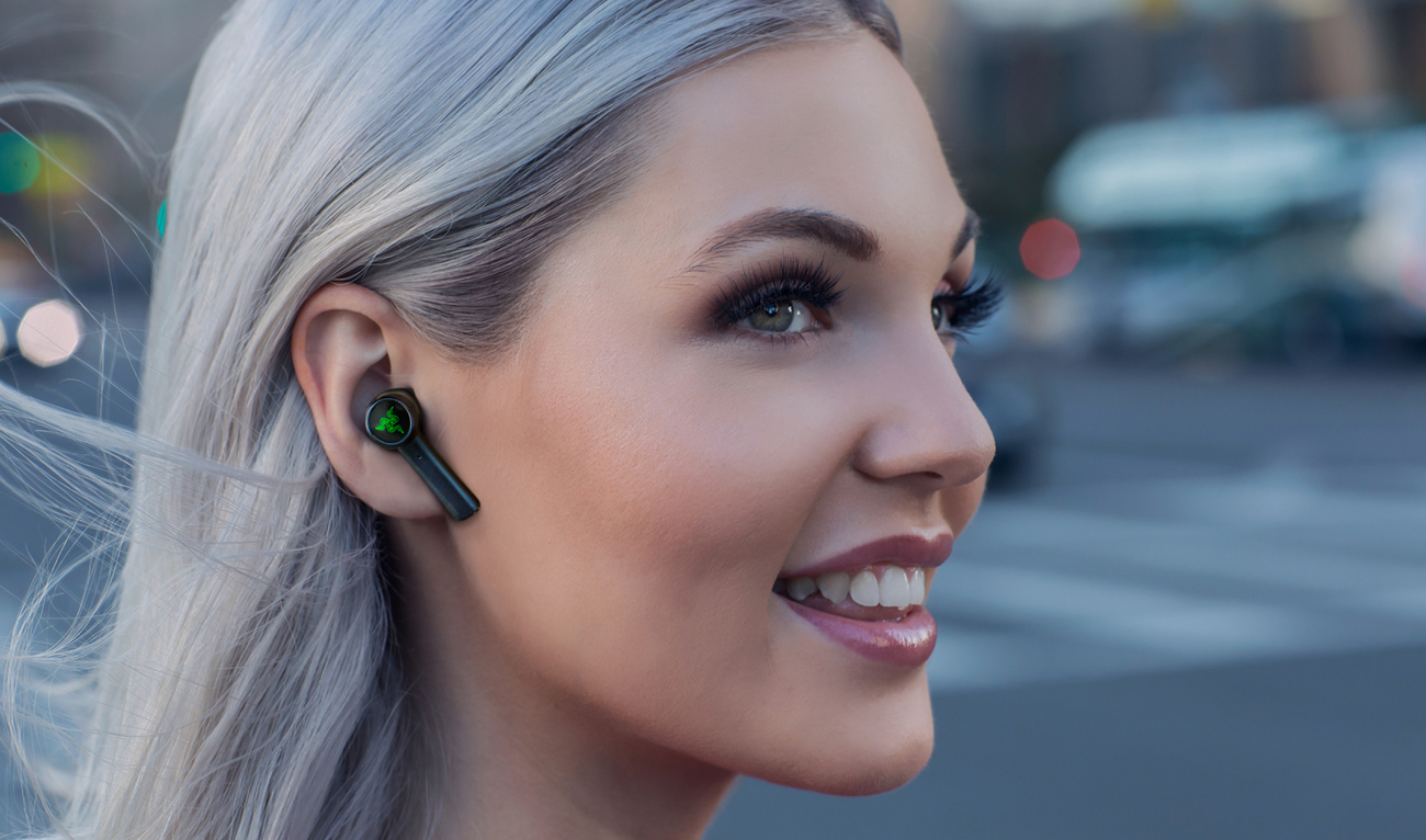 Razer Hammerhead True Wireless Earbuds ipx4 design