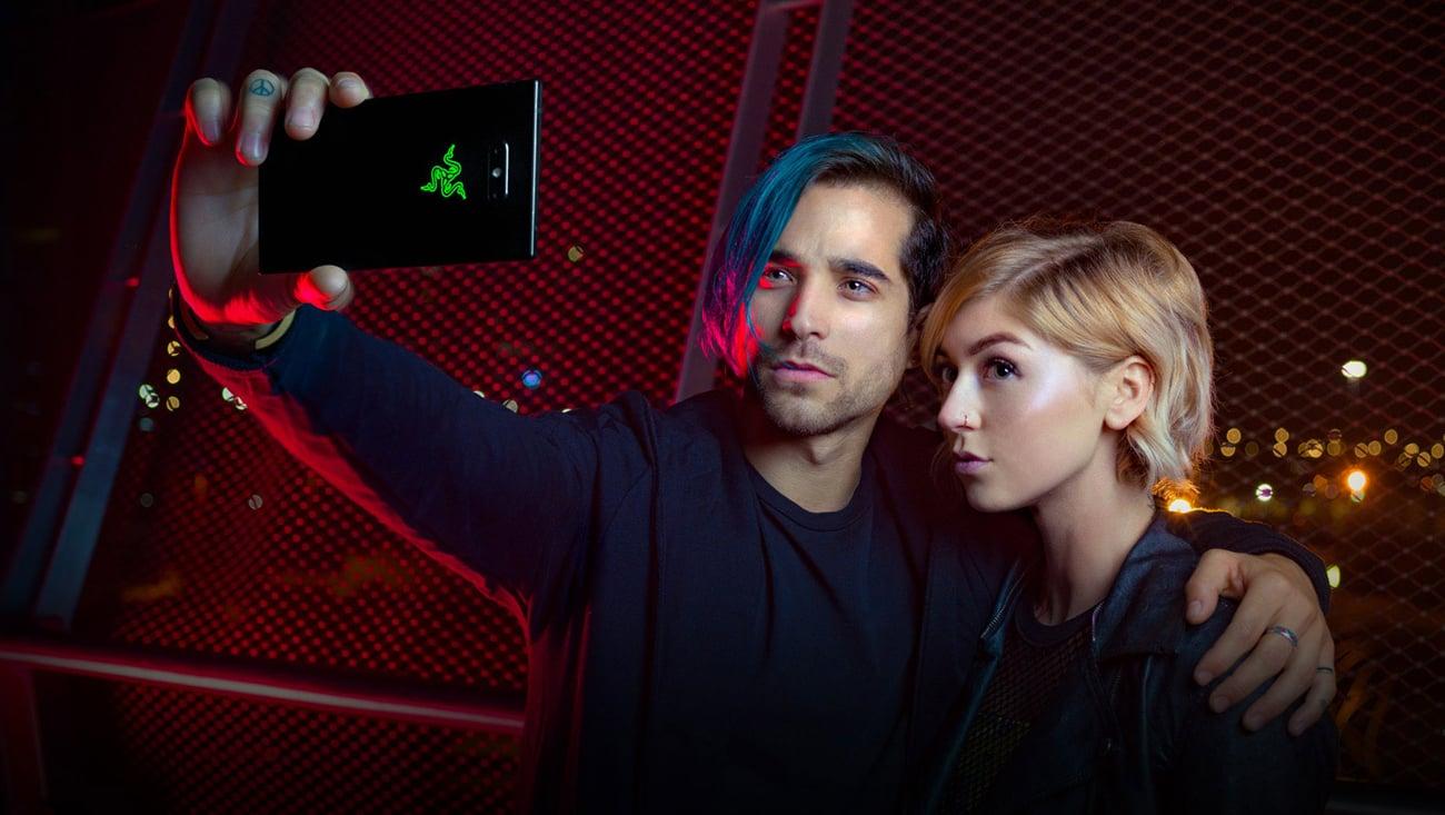 Razer Phone 2 podwójny aparat 12 Mpix teleobiektyw