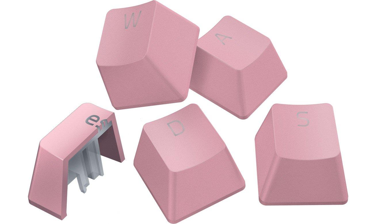 Keycaps do klawiatury Razer PBT Quartz Pink