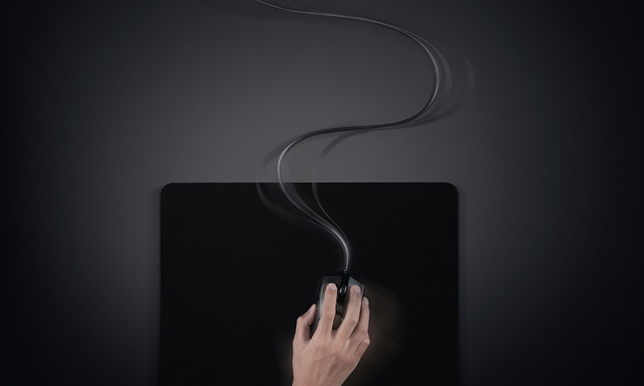 Mysz dla graczy Razer Viper Kabel