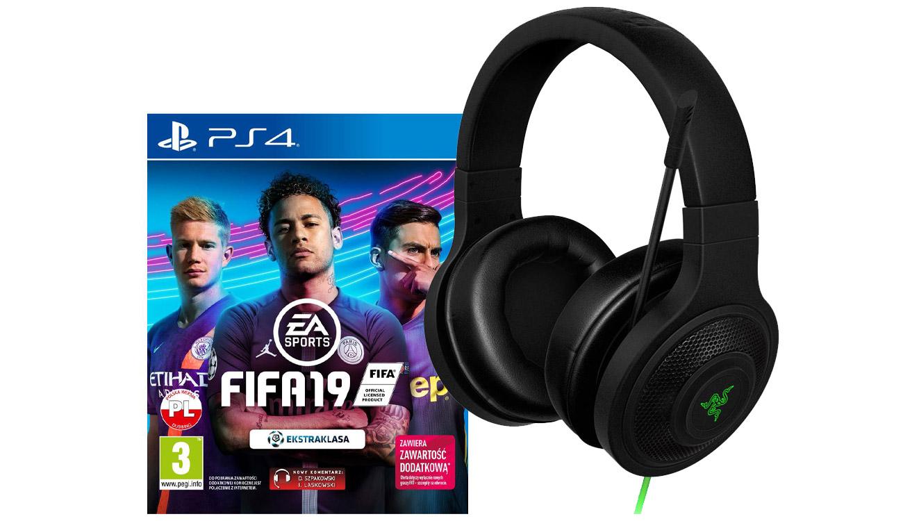 Słuchawki + Fifa 19