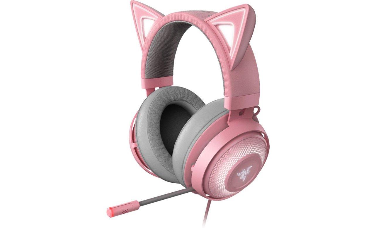 Słuchawki Razer Kraken Kitty Quartz Pink