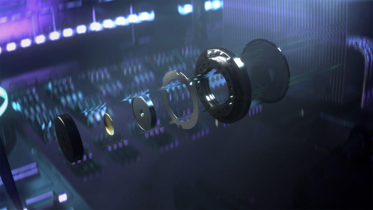 40-milimetrowe przetworniki Razer TriForce