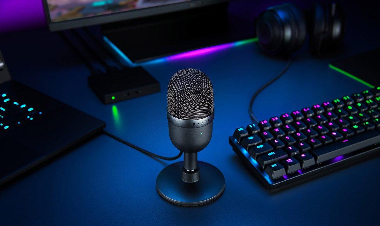Mikrofon biurkowy Razer Seiren Mini