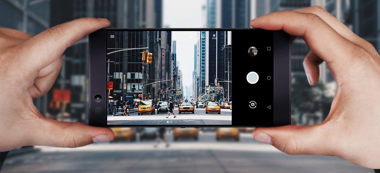 Razer Phone podwójny aparat 12 Mpix teleobiektyw