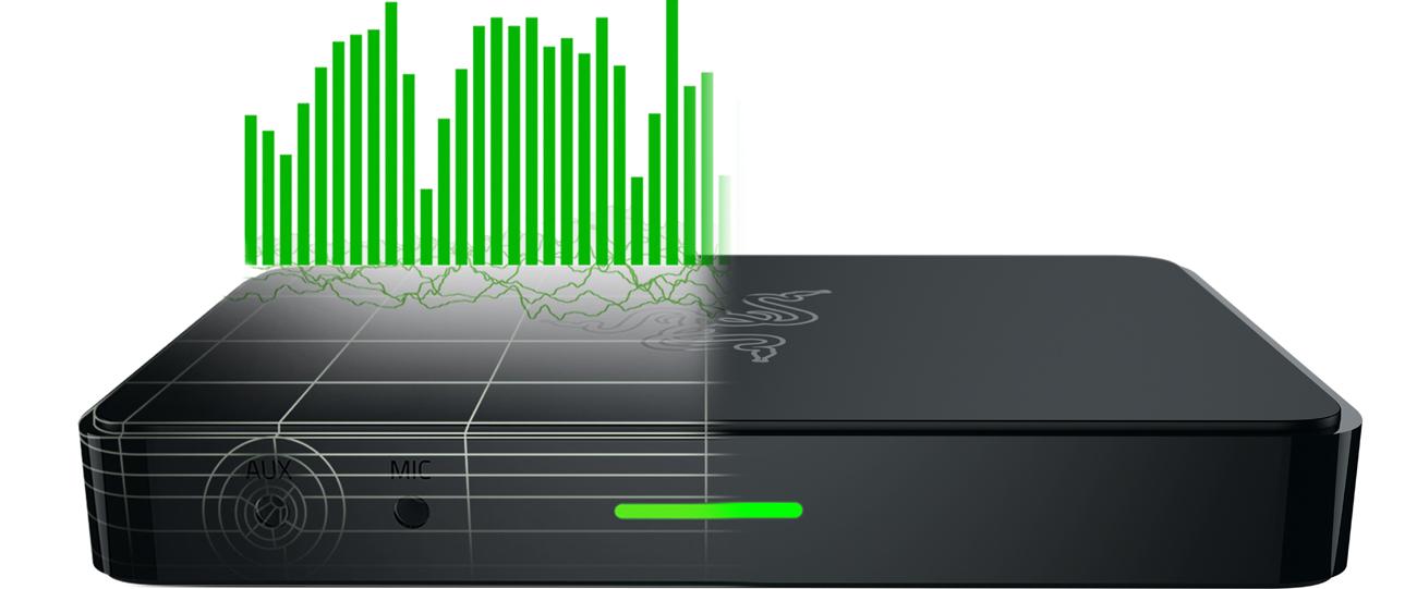 Razer Ripsaw Full HD dodatkowy kanał audio