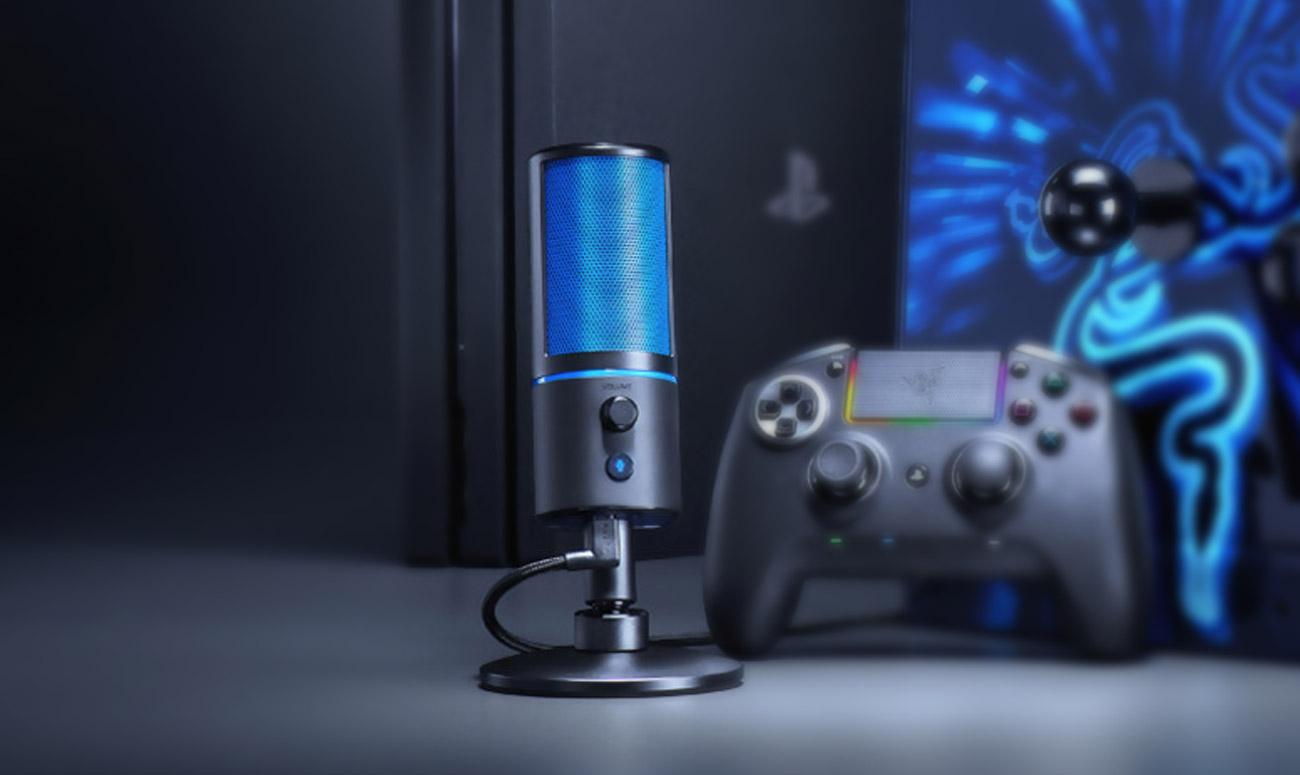 Mikrofon Razer Seiren X sprężyny absorbujące