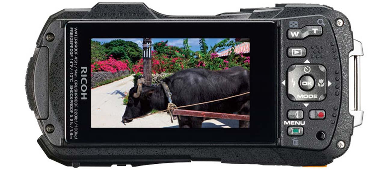 Ricoh WG-50 Rozdzielczość Full HD