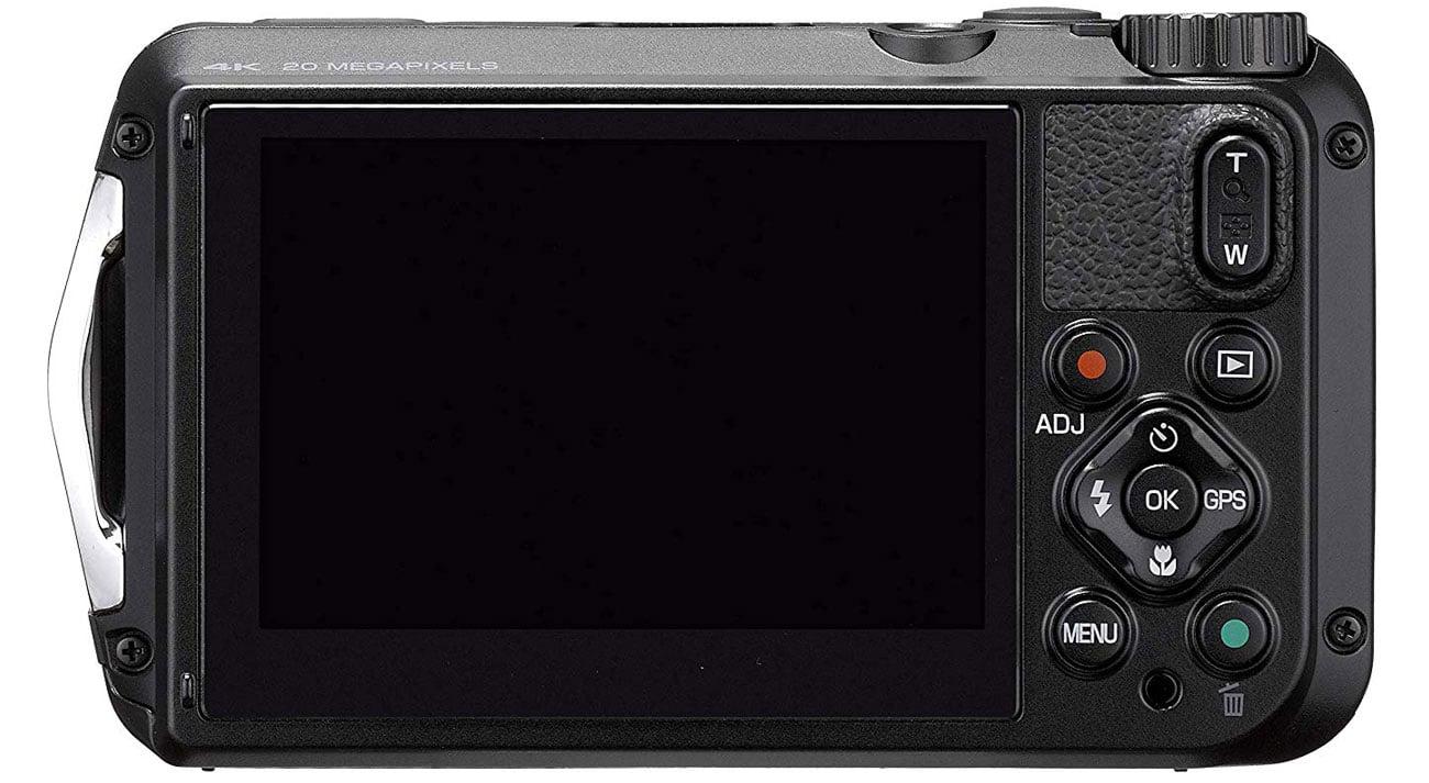 Aparat fotograficzny Ricoh WG-6 w kolorze czarnym