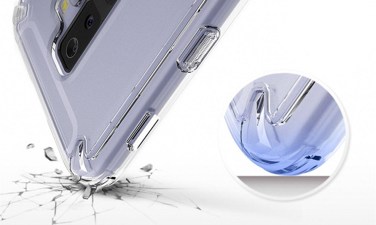 Ringke Fusion do Galaxy A6+ 2018 Bezpieczeństwo