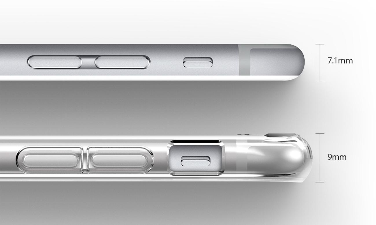 Ringke Air do iPhone 6/6s Crystal View smukłość