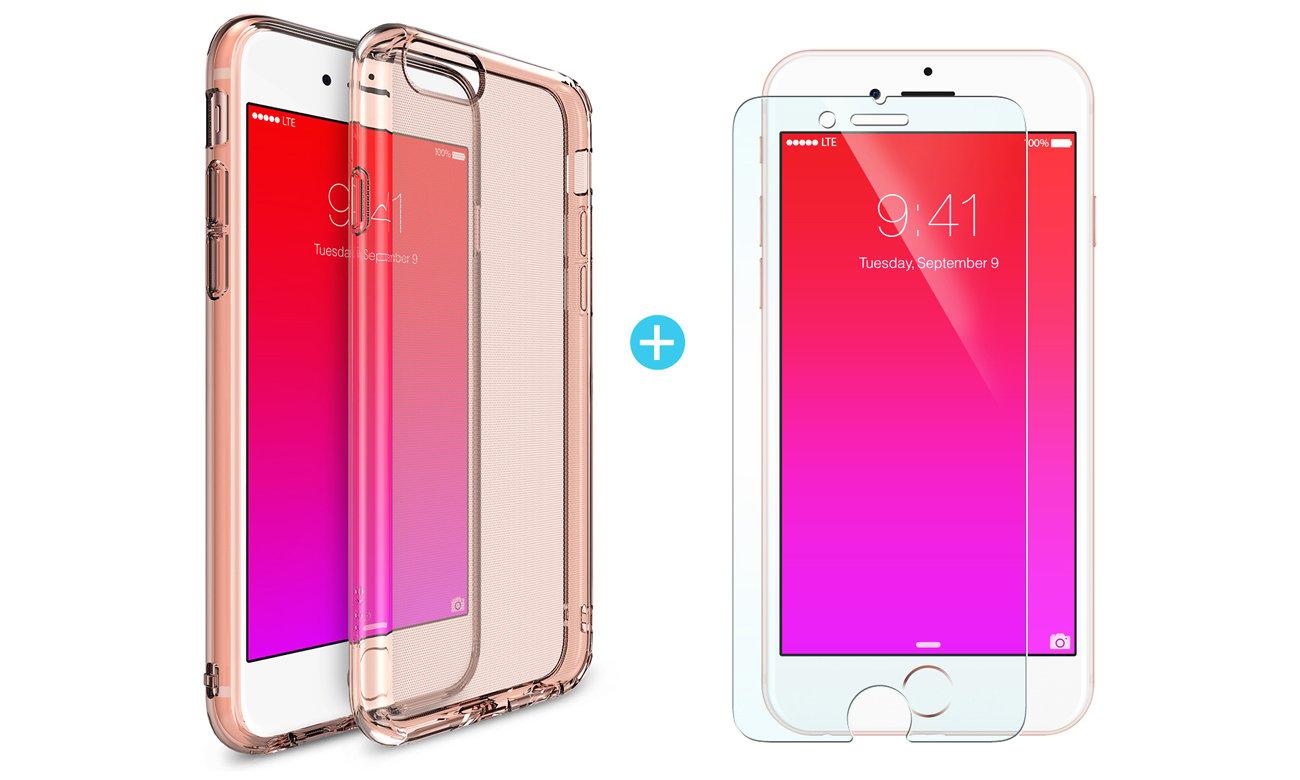 Ringke Air do iPhone 6/6s Crystal View folia w zestawie