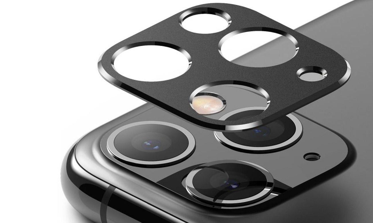 Nakładka Ringke Camera Styling do iPhone 11 Pro / Max Czarna
