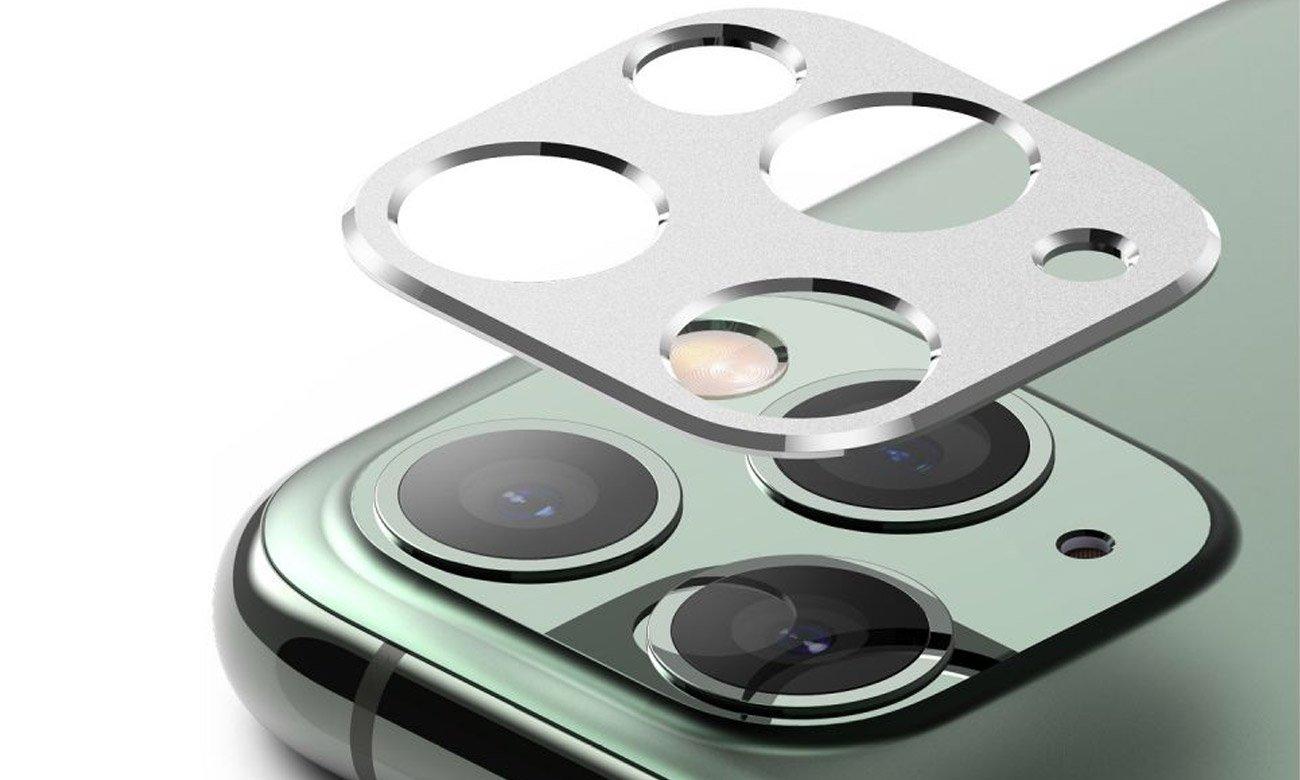 Nakładka Ringke Camera Styling do iPhone 11 Pro / Max Srebrna