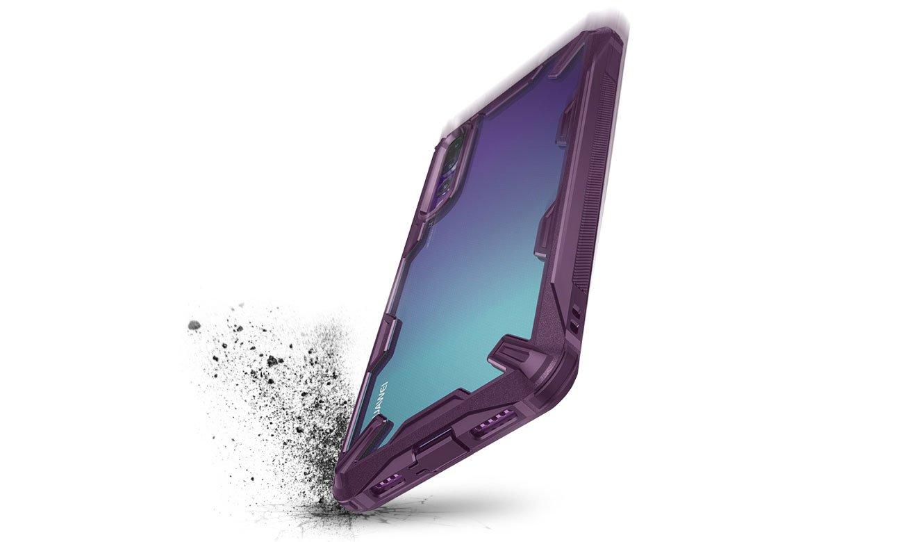 Ringke Fusion X do Huawei P20 Pro Bezpieczeństwo