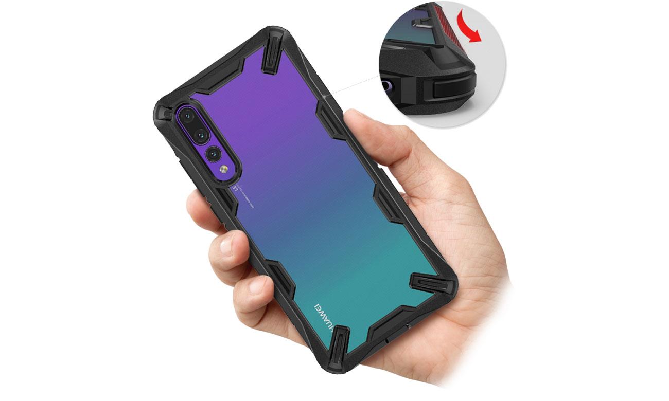 Ringke Fusion X do Huawei P20 Pro Funkcjonalność
