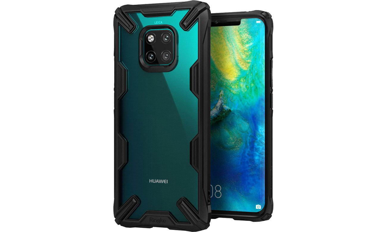 Etui Ringke Fusion X do Huawei Mate 20 Pro Black 8809628567399