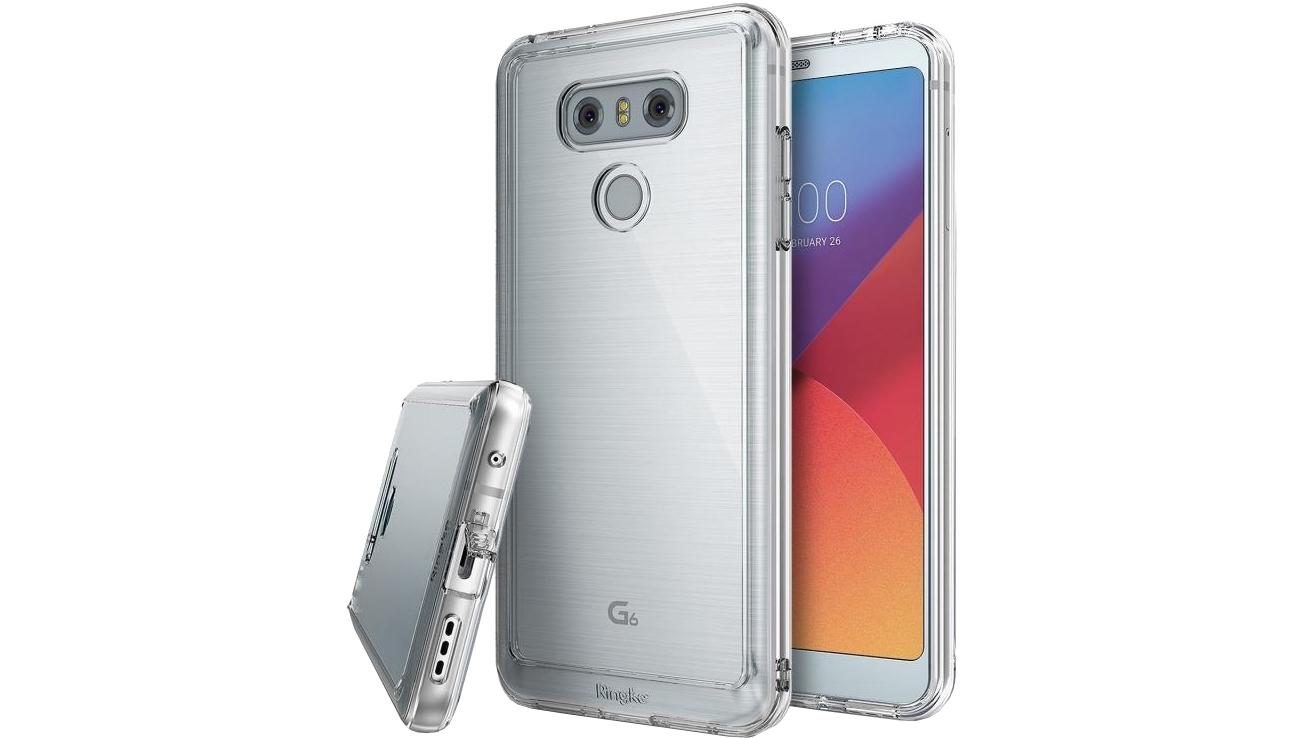 Ringke Fusion do LG G6 przezroczyste wykończenie