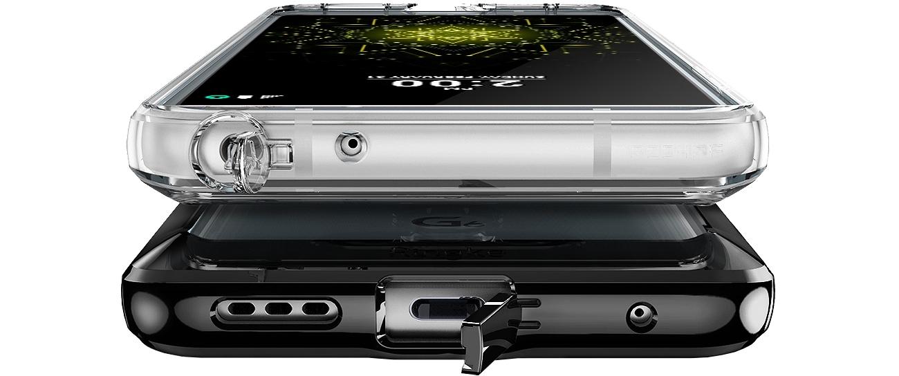 Ringke Fusion do LG G6 elementy chroniące porty telefonu