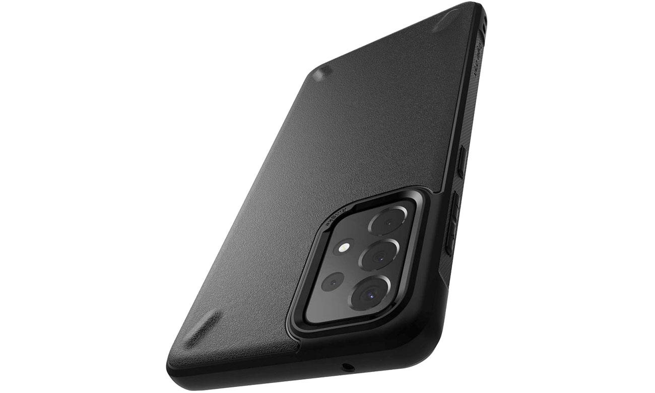Etui Ringke Onyx do Samsung Galaxy A52 czarny OXSG0034