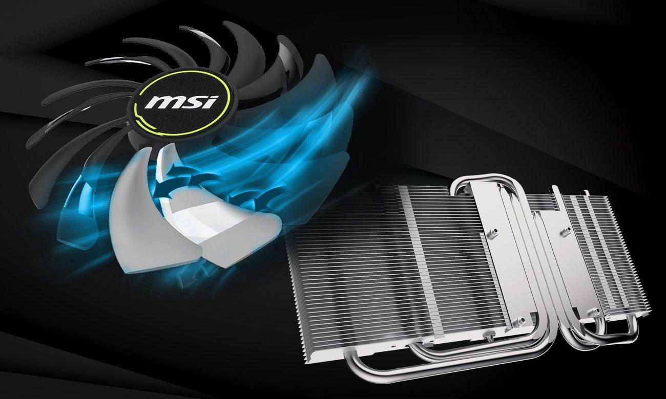 MSI Geforce RTX 2060 SUPER VENTUS GP OC - Chłodzenie