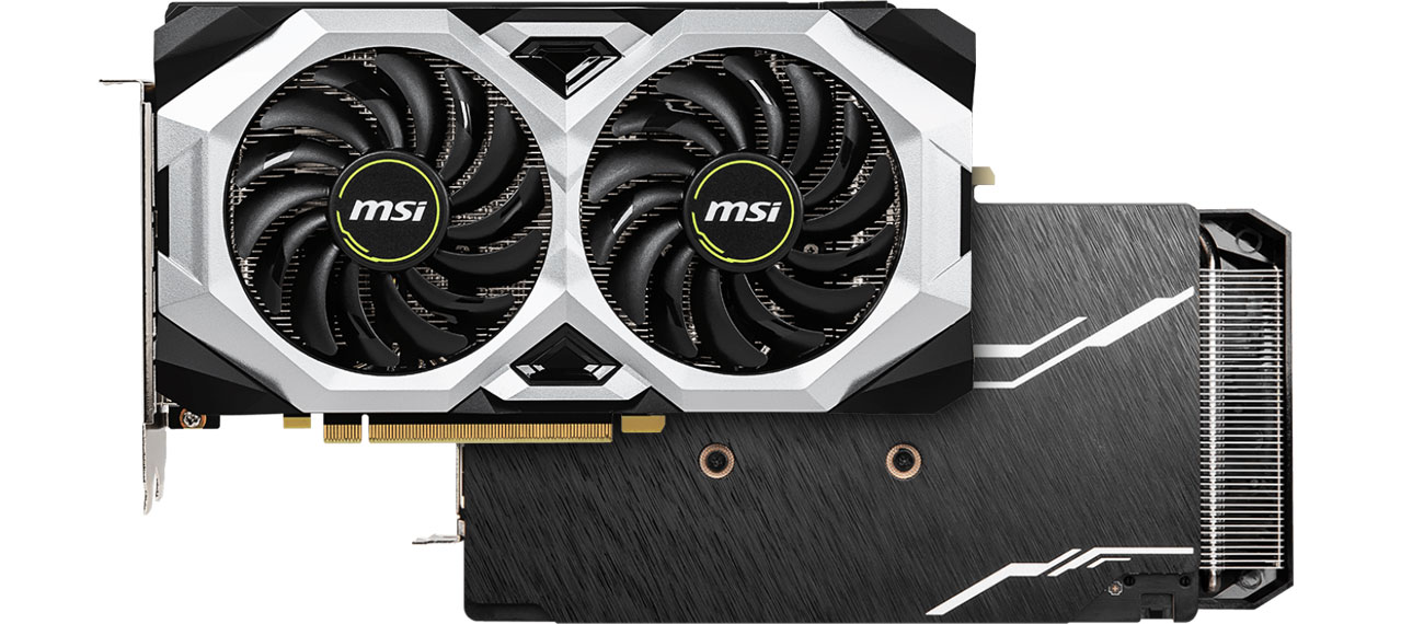 MSI Geforce RTX 2060 SUPER VENTUS GP OC - Przód, tył