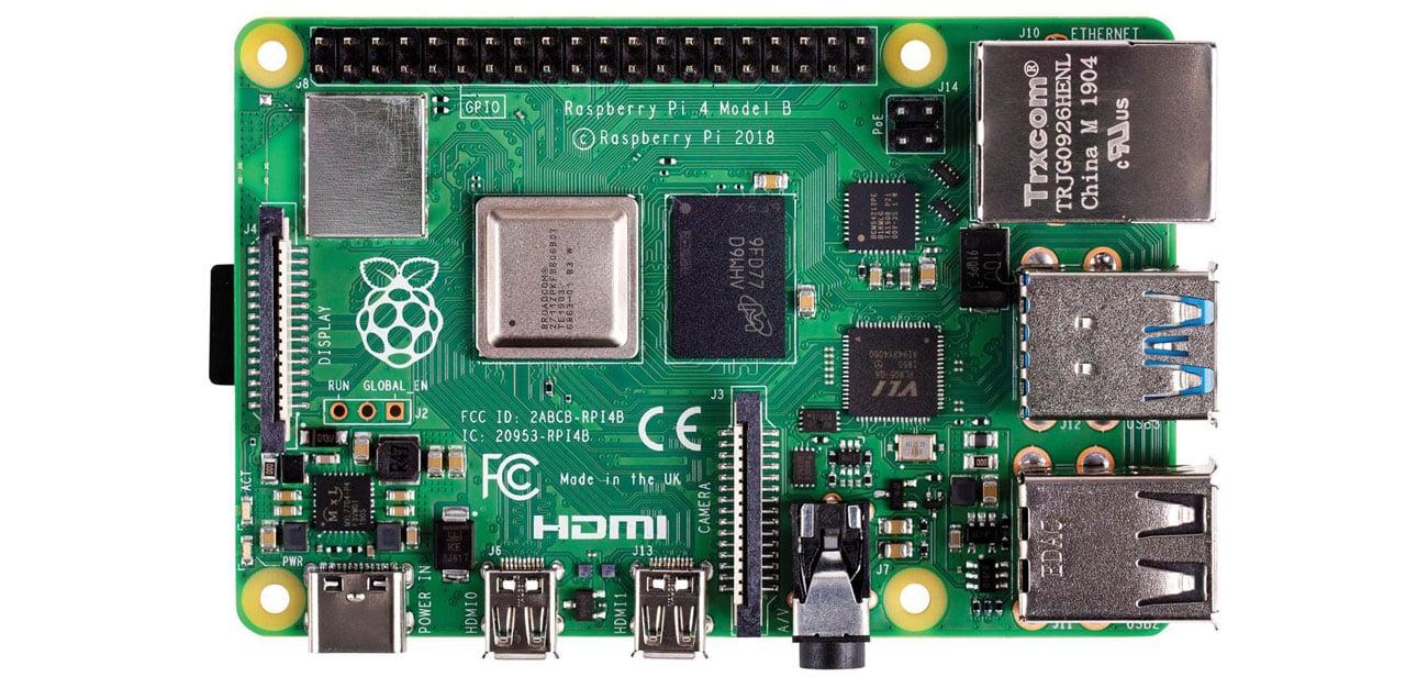 Komputer Raspberry Pi 4 model B