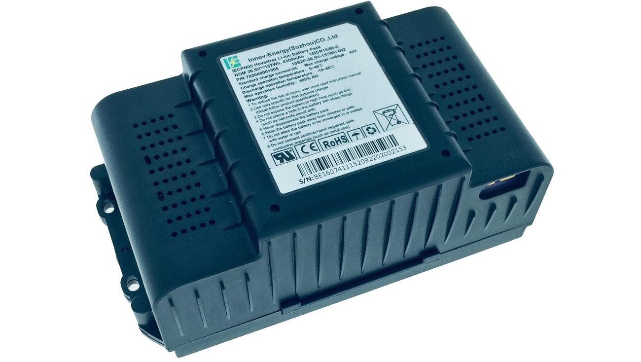 Wskaźnik naładowania baterii i trybu jazdy