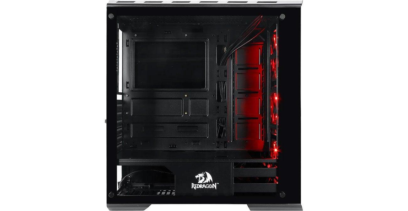 Redragon GrimLock RGB GC-602 Wnętrze
