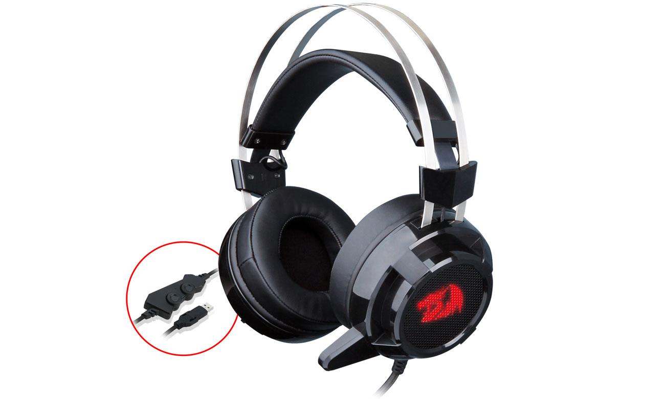 Zestaw słuchawkowy Redragon H301 Siren USB