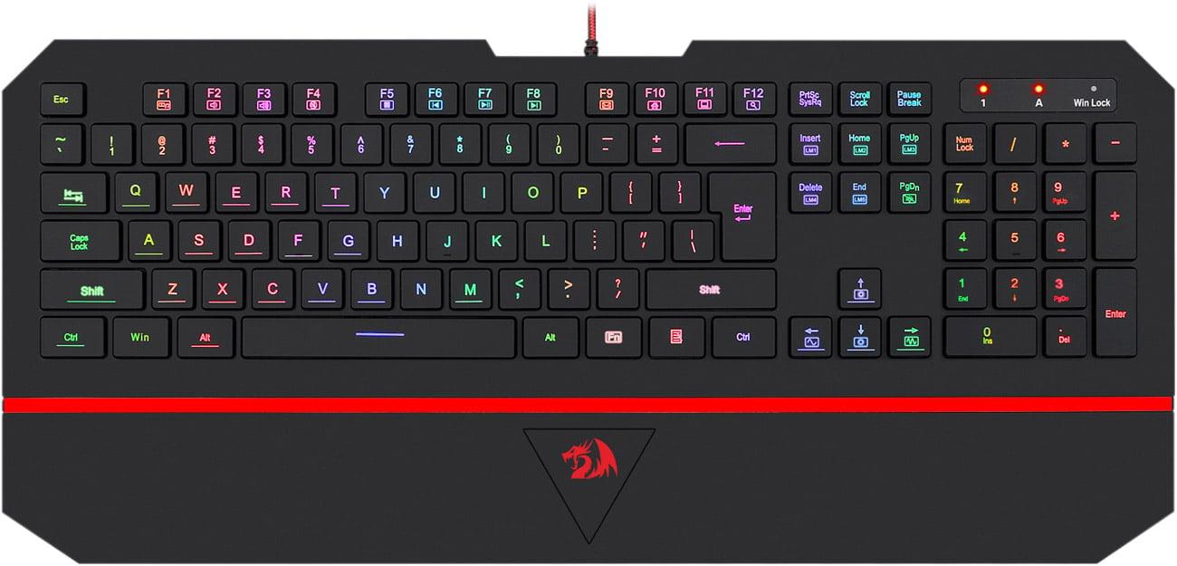 Klawiatura dla graczy Redragon KARURA 2 RGB