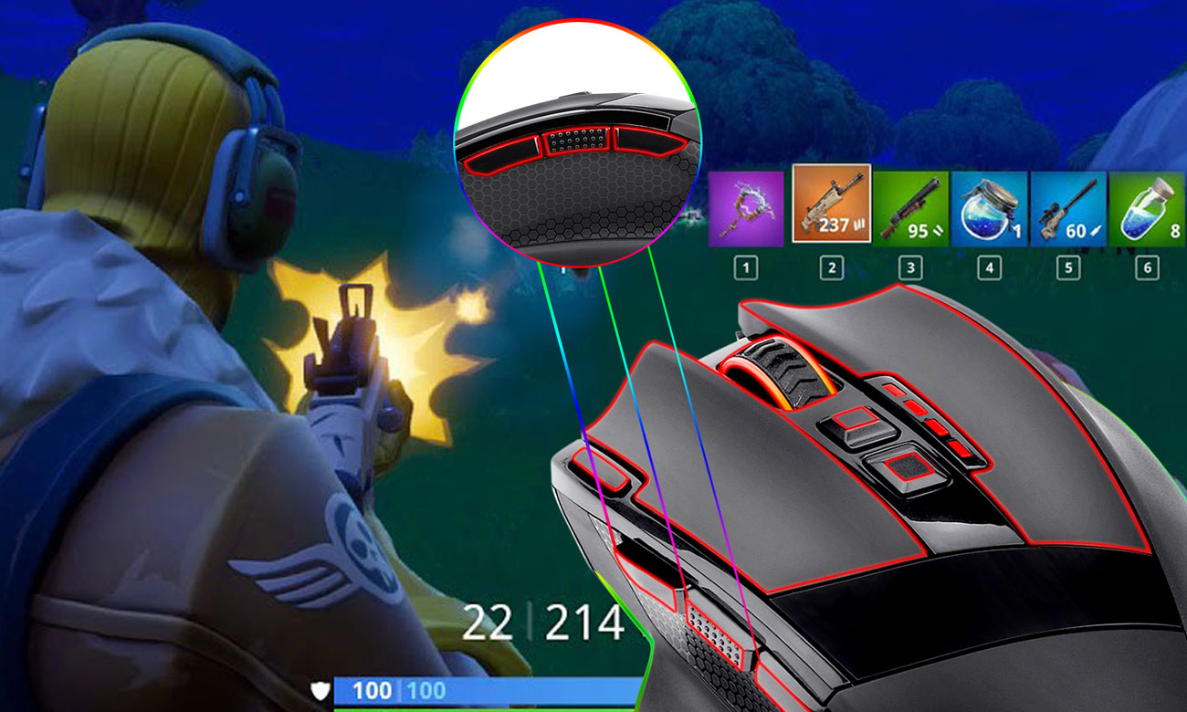 Mysz gamingowa Redragon Sniper Pro