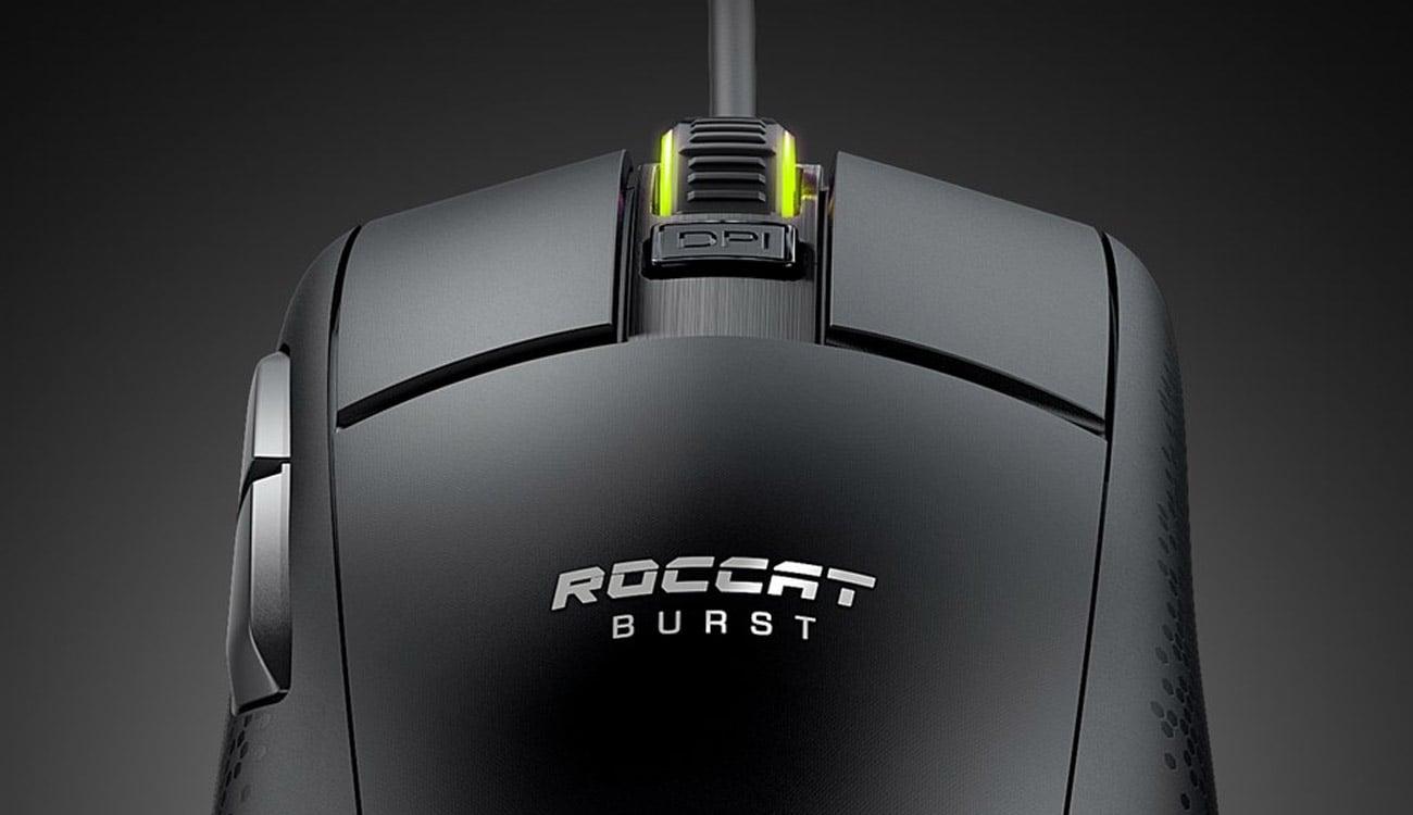 Mysz dla graczy Roccat Burst Core AIMO czarna