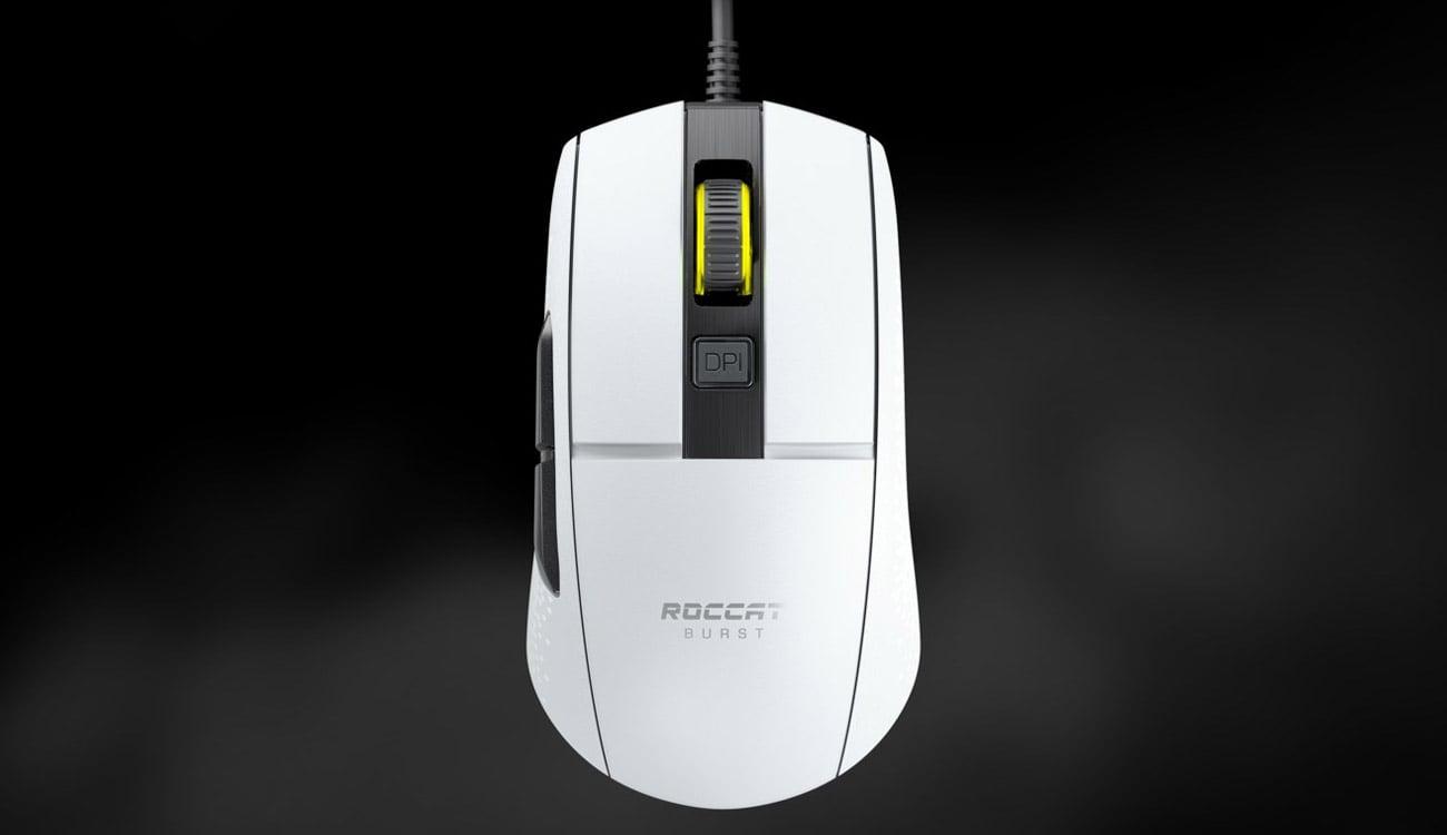 Mysz dla graczy Roccat Burst Core AIMO biała