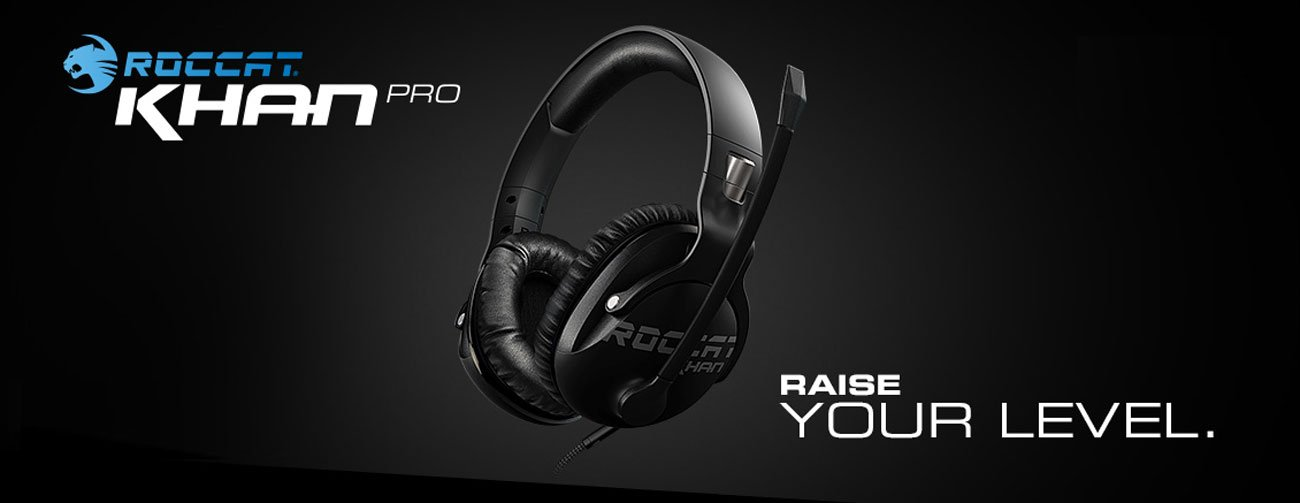 Roccat Khan Pro słuchawki dla profesjonalnych graczy