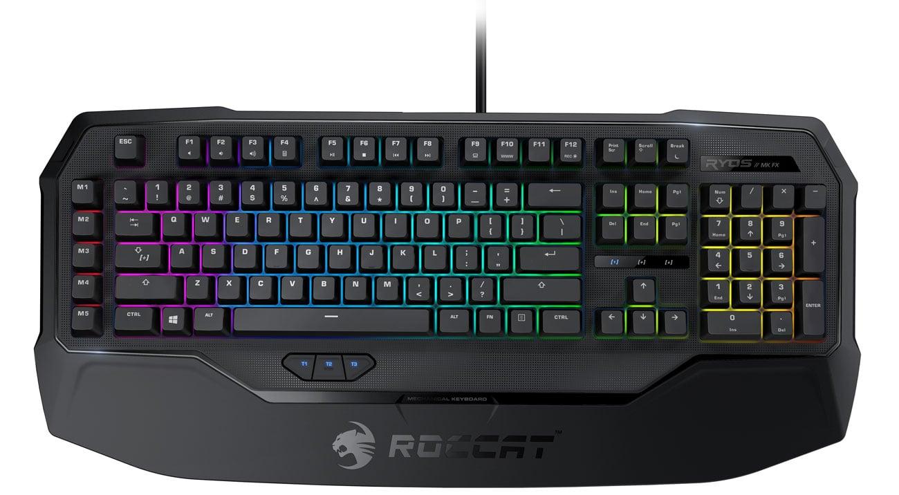Klawiatura mechaniczna dla graczy ROCCAT® Ryos MK FX - Technologia EASY-SHIFT[+]