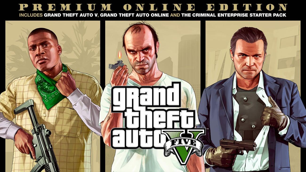 Gra PS4 GTA V Edycja Premium