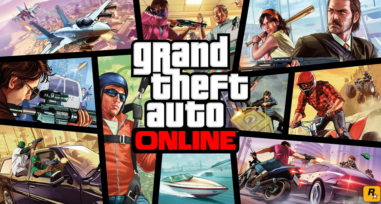 Tryb Grand Theft Auto Online